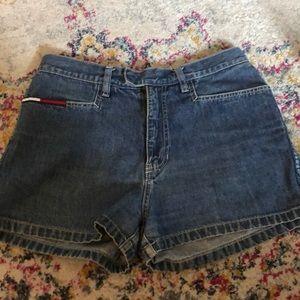 90s vintage Tommy Hilfiger Jean shorts